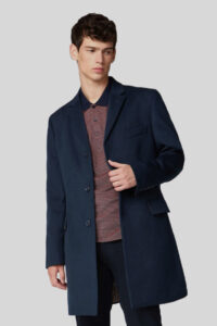 Abrigo Ben Sherman Tailored Midnight Blue 1