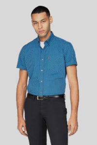 Camisa Gingham – Ben Sherman – All Blue 1