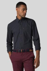 Camisa House Check Rust – Ben Sherman – Navy 1