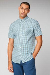 Camisa_SIGNATURE HOUSE CHECK_Ben Sherman_0059144_blue_