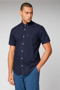 Camisa_Signature Button Down Oxford_Ben Sherman_0059140_Navy_a