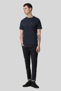 Camiseta con Bolsillo – Ben Sherman – Navy 1