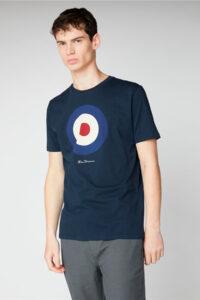 Camiseta_Signature Mod Target Tee_Ben Sherman_0059935_Navy_a