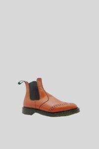 Dealer Boot Punched – UK-LOOK – Pecan 1