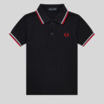 Fred Perry - My First Fred Perry Shirt SY1225 471 Navy-White-Red