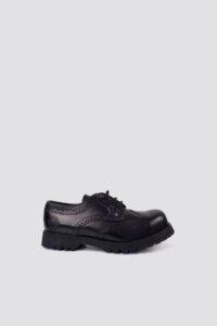 Zapato Budapester Steel Cap – Nevermind – Black 1